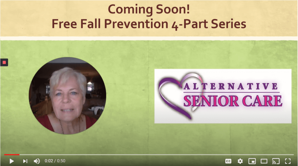 Alternative Senior Care Fall Prevention Tips 1