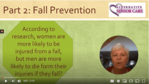 An open/honest dialogue with your doctor, pharmacist, and optometrist can help you prevent a life-altering fall.